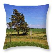 Frieling Cemetery  Throw Pillow