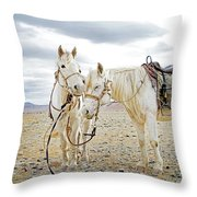 Friends And Companions  Throw Pillow