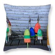 Friendship Color Throw Pillow