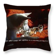 Friendship Quote Throw Pillow