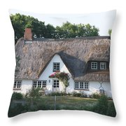 Friesian House Throw Pillow