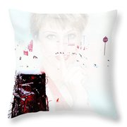 Frigid Throw Pillow