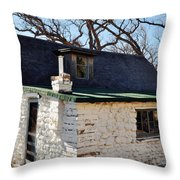 Frijole Ranch Guadalupe Mountains National Park Throw Pillow