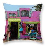 Frills Gallery Throw Pillow