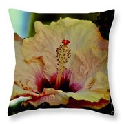 Frilly And Fancy Throw Pillow