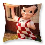 Frisch's Big Boy Throw Pillow