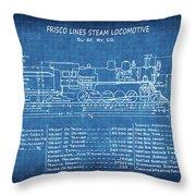 Frisco steam locomotive blueprint yoga mat for sale by daniel hagerman frisco steam locomotive blueprint throw pillow malvernweather Images