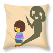 Frisk Throw Pillow