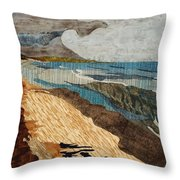 From 9th St  Throw Pillow