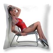 From A Distance ... Throw Pillow