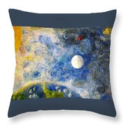 From A Distance Throw Pillow