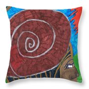 From Africa Throw Pillow