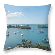 From Annettes Place Throw Pillow