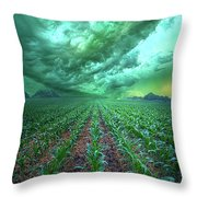 From Beginning To End Throw Pillow