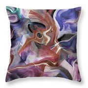 From Beyond II Throw Pillow