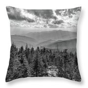 From Clingmans Dome Throw Pillow