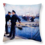From Copenhagen's Rescue I I I Throw Pillow