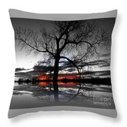 From Darkness Throw Pillow