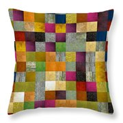 From Fence To Feast Panel Sketch Throw Pillow