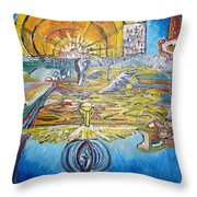 From Ground To Sky Throw Pillow