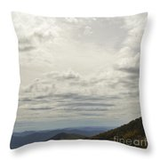 From Heaven To The Mountains Throw Pillow