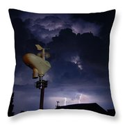 From Hot To Electrifying Throw Pillow