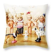 From Life Of Toys Throw Pillow