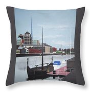 From Longboats To Pyramids Throw Pillow