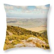 From Mountains To Seas Throw Pillow