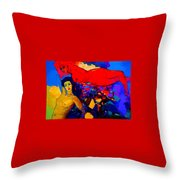 From My Passion Free Me Let Me Rest Throw Pillow
