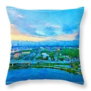 From My Window Throw Pillow
