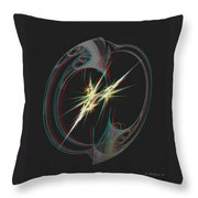 From Nothing - Use Red-cyan 3d Glasses Throw Pillow