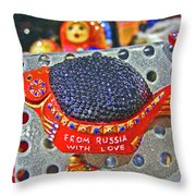 From Russia With Love. Throw Pillow