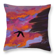 From Shadows Throw Pillow
