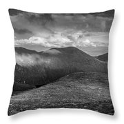 From Slieve Bearnagh Panorama To The South Throw Pillow