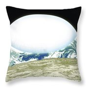 From Space Throw Pillow