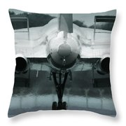From The Back Throw Pillow