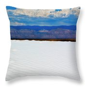 From The Basin Throw Pillow