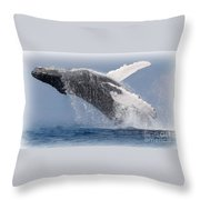 From The Blue Throw Pillow