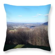From The Cabin In The Woods Throw Pillow