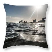 From The Deep  Throw Pillow by Kim Loftis
