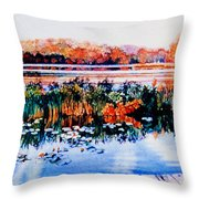 From The Dock Throw Pillow