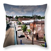 From The Foot Bridge Throw Pillow