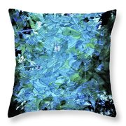 From The Glory Of Trees Abstract Throw Pillow