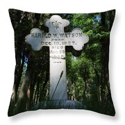 From The Grave No4 Throw Pillow
