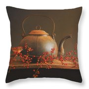 From The Hearth Throw Pillow