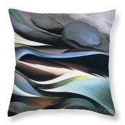 From The Lake By Georgia O'keeffe Throw Pillow