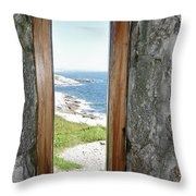 From The Lighthouse Throw Pillow