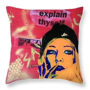From The Margins Throw Pillow