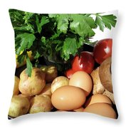 From The Market Throw Pillow